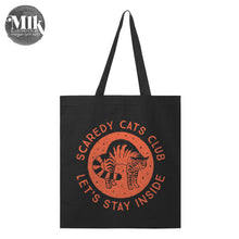 Scaredy Cats Club Large Tote Bag