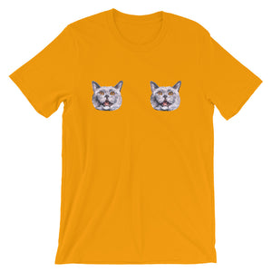 Itty Bitty Kitty Commit-Tee - Unisex Short Sleeve T-Shirt