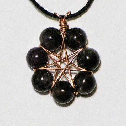 Amethyst star septagram amulet merlins realm amethyst star septagram amulet aloadofball Choice Image
