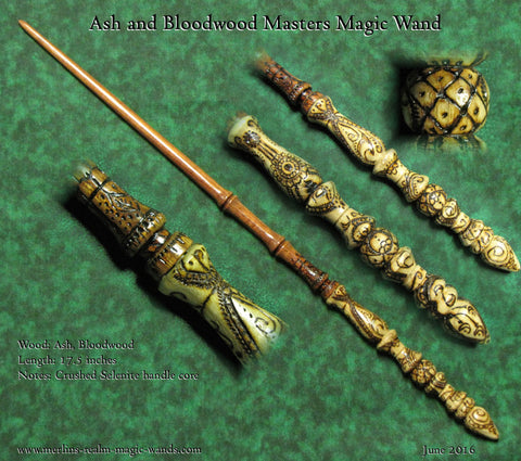Real wizard wiccan wooden magic wand wands