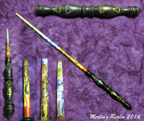 Elemental master magic wand merlin 39 s realm for The master wand