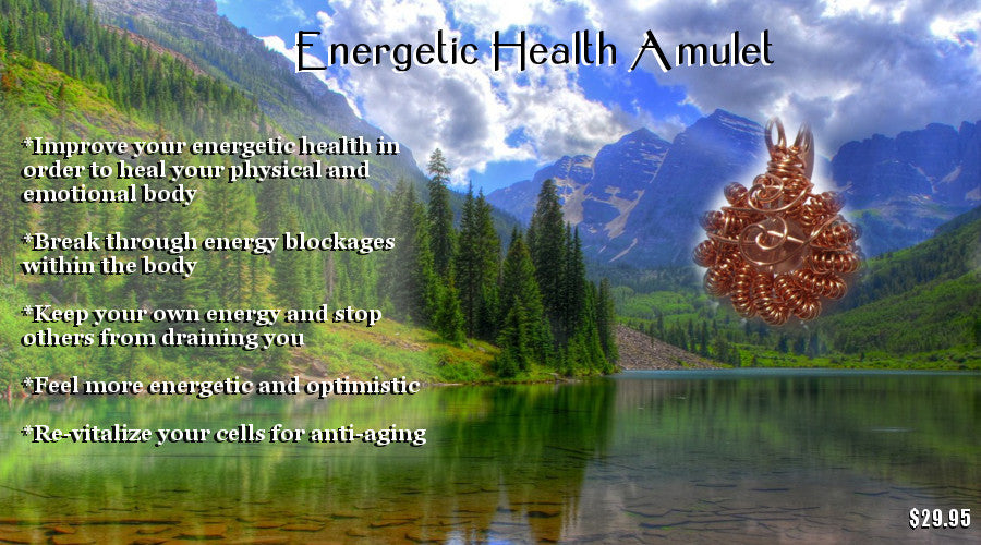 energy health amulet