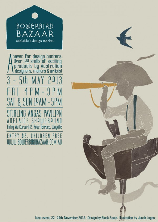 Bowerbird Bazaar May 2013