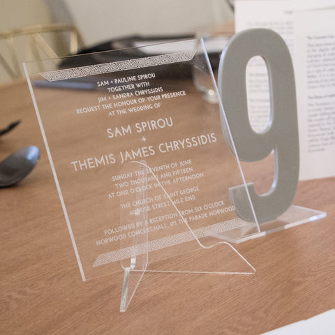 Sam & Themis invitation