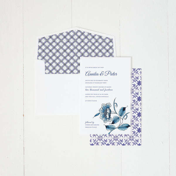 Delft invitation