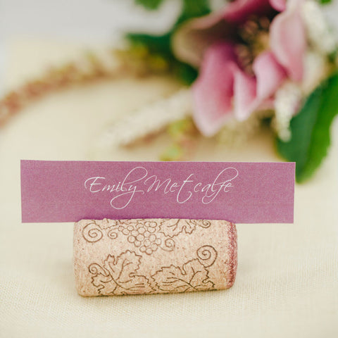 Entwined place card