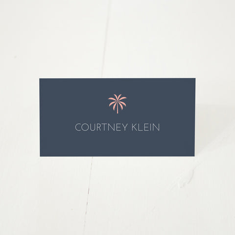 Palm Cove place card