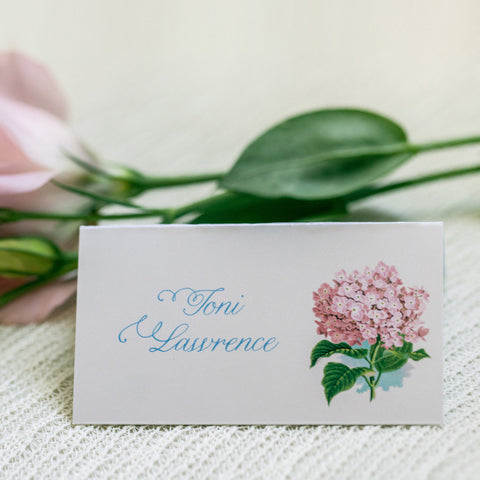Garden Path place card