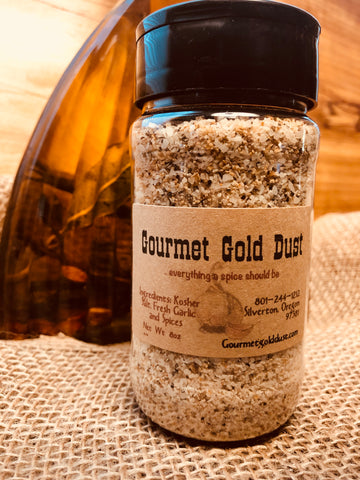 Gourmet Gold Dust Shaker 8oz