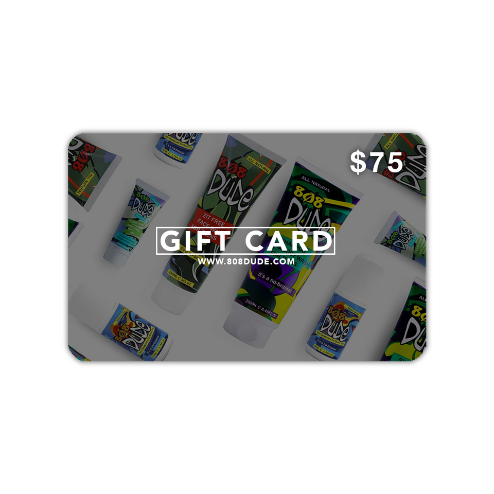 808 Dude Gift Card