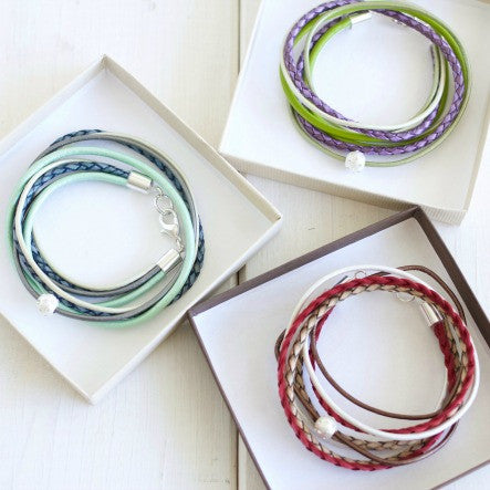 Your Invitation to the Fall Collection Launch Party!!! New Colorful Leather Wrap Bracelets and more!
