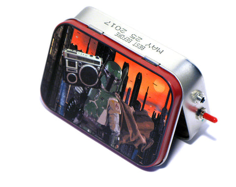 """Boba on Blast"" Mint Tin Pocket Boombox"