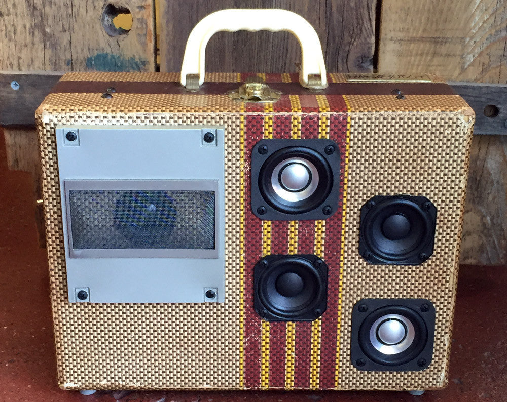 """Dick Tracy"" Suitcase Boombox"