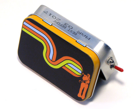 """Jazzin"" Mint Tin Pocket Boombox"