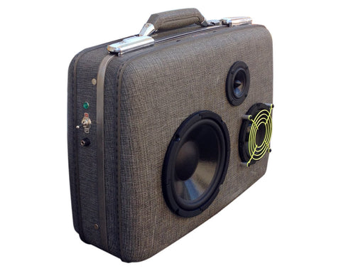 """Lil' Hy-Phy"" Vintage Suitcase Boombox"