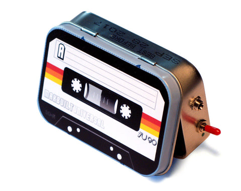 """The Mixtape"" Mint Tin Pocket Boombox"