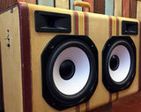 """The Murdock"" Vintage Suitcase Boombox"