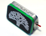 """Oakland Oak Tree"" Mint Tin Pocket Boombox"