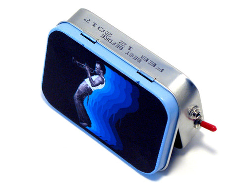 """Of the Blue Kind"" Mint Tin Pocket Boombox"