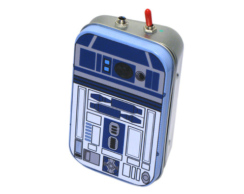 """R2D2"" Mint Tin Pocket Boombox"