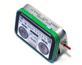 """Soundwave"" Mint Tin Pocket Boombox"