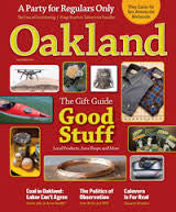 Oakland Magazine - Holiday Gift Guide 2015