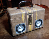 """Steampunker"" Suitcase Boombox"