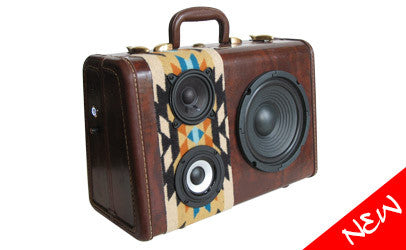 SUITCASE BOOMBOXES