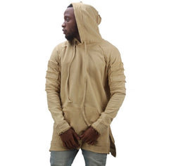 Ripped Longline Hoodies - Marvelous Clothing - 4