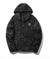 Paint Splat Hooded Jacket - Marvelous Clothing