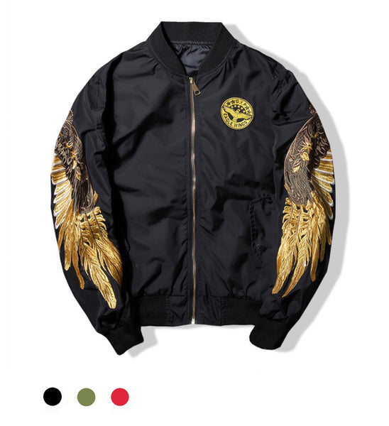 Eagle Wings Bomber Jacket - Marvelous Clothing