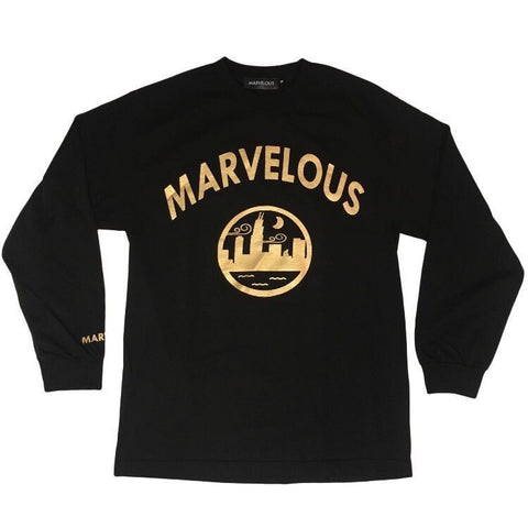 "Marvelous Metallic Gold ""Finesse"" Shirt"