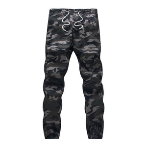 Fitted Camo Joggers