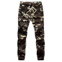 Fitted Camo Joggers - Marvelous Clothing