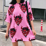 Pink Devilish Graphic Shirt - Marvelous Clothing