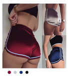 Marvelous Velvet  Booty Shorts - Marvelous Clothing