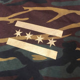 Marvelous Metallic Gold Camo T-Shirt - Marvelous Clothing - 3
