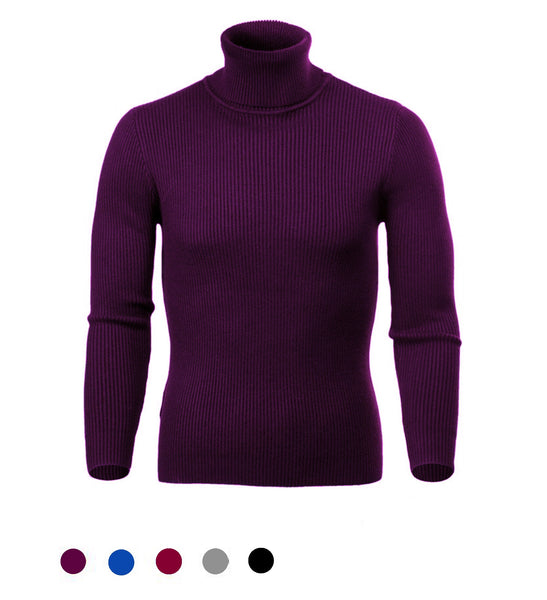 Cashmere Turtleneck Pullover - Marvelous Clothing