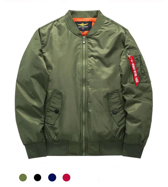Flight Bomber Jacket - Marvelous Clothing