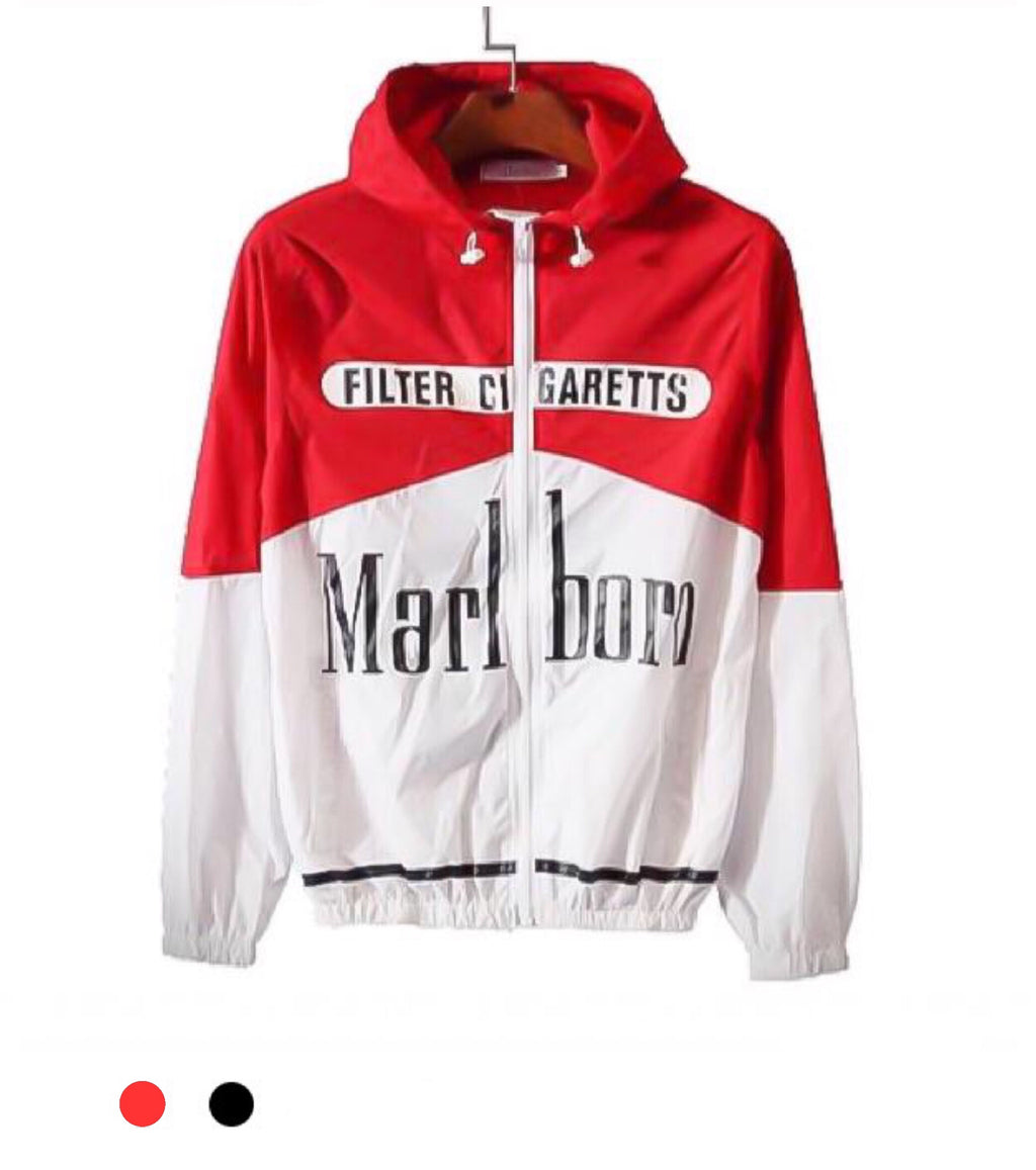 Marlboro Windbreaker Jacket
