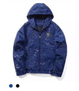 Paint Splat Hooded Jacket