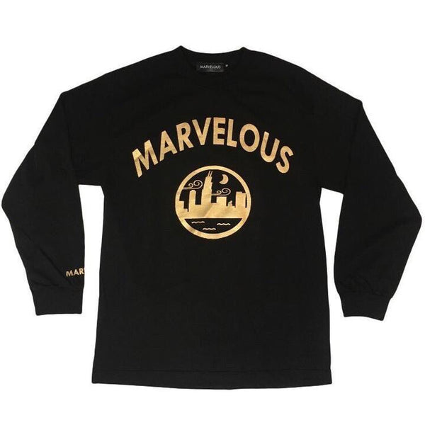 "Metallic Gold ""Finesse"" Shirt - Marvelous Clothing"
