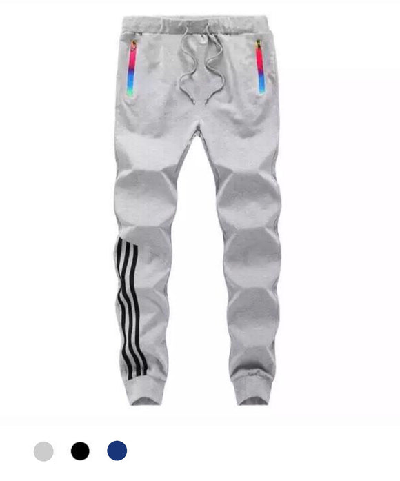 Striped Joggers - Marvelous Clothing
