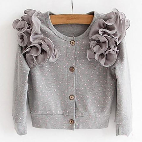 """We Love Frills"" Cardigan"