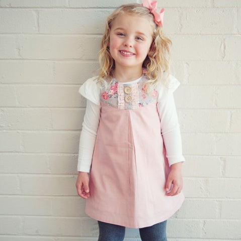 Emma Pinafore Dress