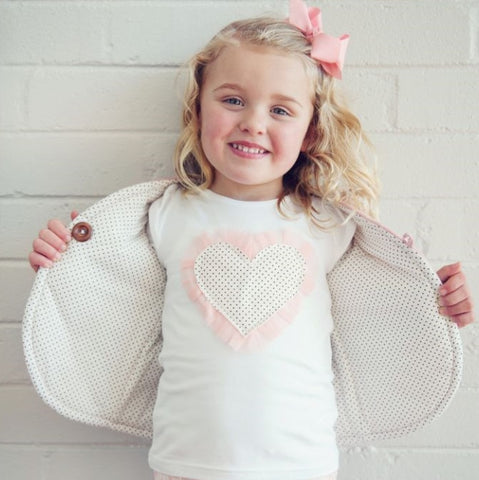 Emma Long Sleeve Heart Top