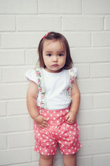 Rose Suspenders Top and Lucy Shorts