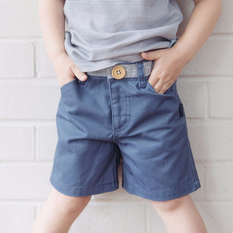 Tribal Oscar Shorts - Navy