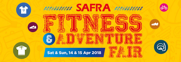 Test ride our escooters at SAFRA Fitness & Adventure Fair