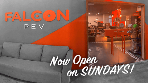 Showroom now open on Sundays